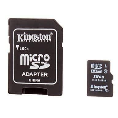 Carte mémoire Micro SD